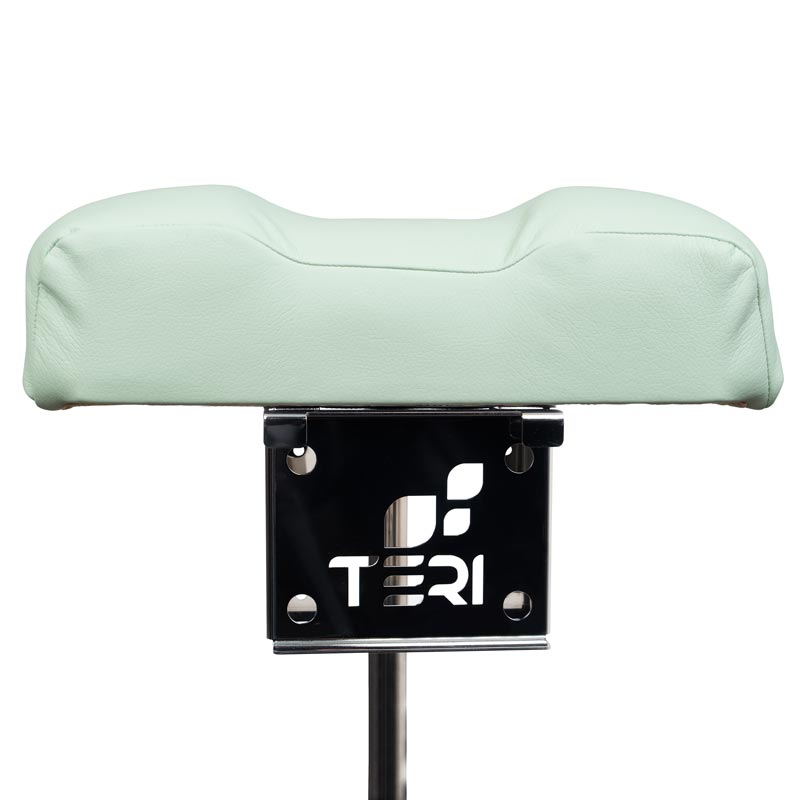 Mount for pedicure stand with menthol cushion