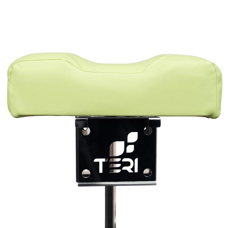 Mount for pedicure stand with pistachio cushion